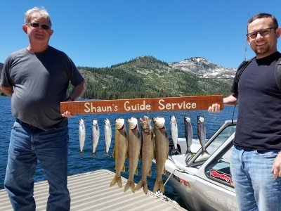 Donner lake fishing report 6-28-17