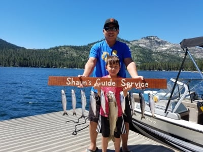 Donner lake fishing report 7-10-17