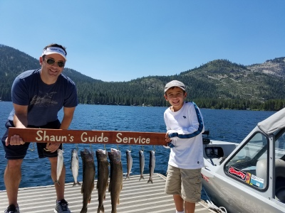 Donner lake fishing report 8-11-17
