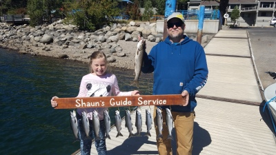 Donner lake fishing report 9-30-18